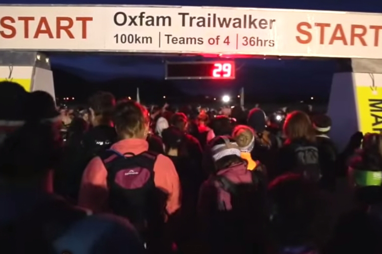 Oxfam 100km Walk 2014, Taupo NZ